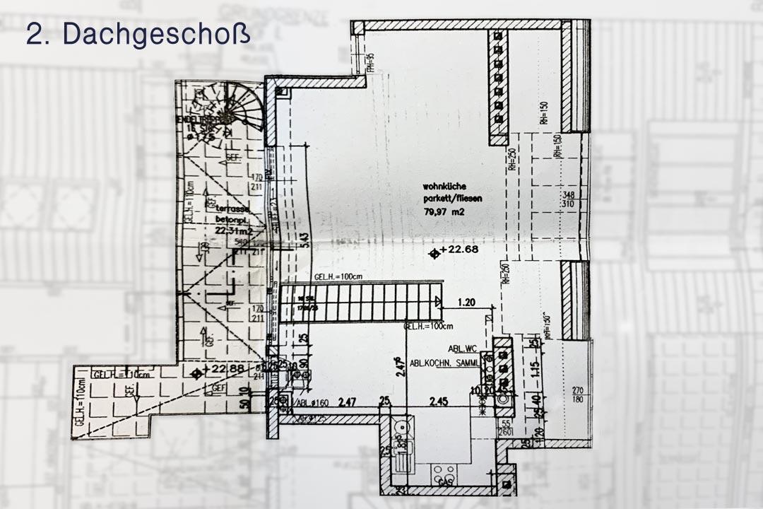 2. Dachgeschoß